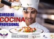 Cursos de cocina profesional