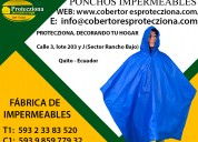 Ponchos impermeables quito