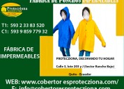Fabrica ponchos impermeables