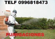 Sanetizacion desinfeccion y fumigaciones