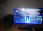 Se vende computador gamer smart tv