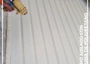 Plancha rociada espuma de poliuretano ecuador