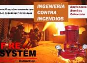 Bombas contra incendios normadas ul/fm