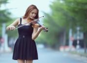 Clases, profesor de violín on line.