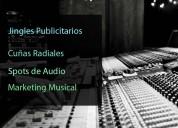 Jingles publicitarios cuÑas radiales, spots