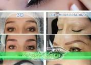 Cejas micropigmentadas cuenca ojos labios
