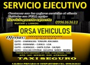 Servicio ejecutivo vip quito-ecuador