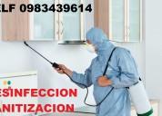 Sanitizacion y fumigaciones con amonio