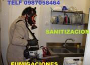 Fumigaciones desinfeccion y sanitizacion con amon