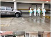 Servicio de desinfeccion, fumigacion, sanitizacion