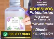Adhesivos publicitarios !!!
