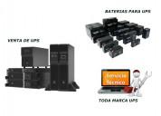 Venta de ups online, venta de baterias para ups