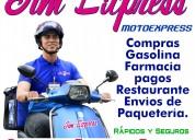 Servicio de moto jimexpress en machala