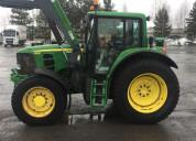 Tractor de granja john deere 6630