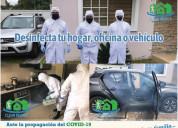 Servicio de fumigación, sanitizacion, desinfección