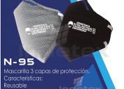 Mascarillas n95 3 capa de proteccion