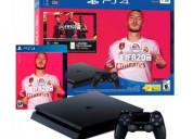 Consola sony playstation 4 fifa 2020 + control