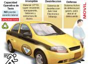 Taxis sistema electrÓnico desinfecciÓn ultra viole
