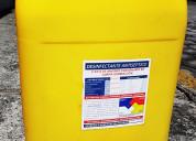 Amonio cuaternario 5ta. generación certificado
