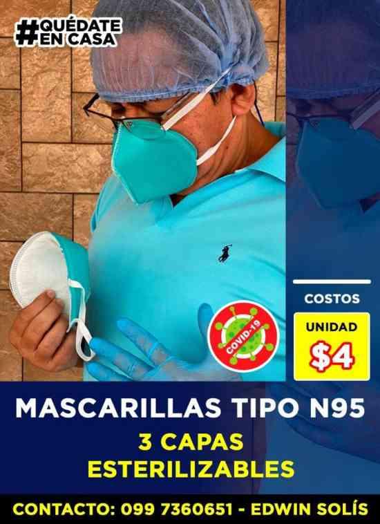 MASCARILLAS N95 VENTA