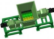 Triturador de dos ejes. planos p/fabricar.
