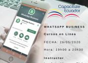 Aprende sobre whatsappbusiness