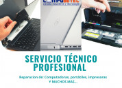 Servicio técnico para computadoras y portátiles