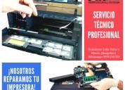Servicio tÉcnico impresoras y computadoras