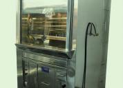 Horno ecologico pollos brasa-vitrinas refrigeradas