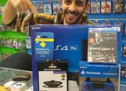 Venta sony ps4 pro 1tb console con 8 juegos $150us