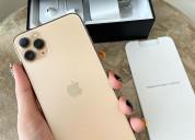 Venta autentico apple iphone 11 pro max oro $300us