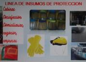 Insumos de protecciÓn  /  fumigaciones