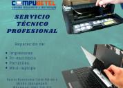 Servio técnico, reparación de computadoras