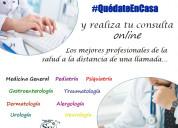 Consulta de medicina general y de especialidades
