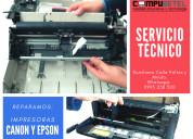 Se realiza servicio técnico de impresoras-rumiloma