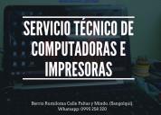 Servicio técnico de portátiles
