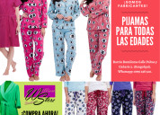 Fabricamos pijamas en tela térmica.