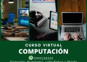 Cursos de computación, informática en sangolquí.