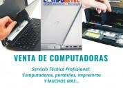 En sangolquí, venta de computadoras