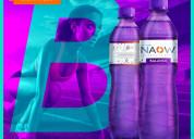 Agua alcalina naow balance