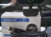 Cámara web hd 1080p micrófono integrado