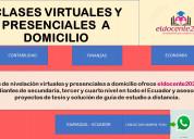 Clases virtuales de contabilidad y finanzas