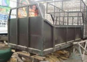 Fabricacion de furgones estandar y termicos