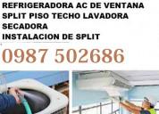 Refrigeracion ac split congelador  mantenimiento r