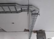 Bandeja eléctrica tipo escalerilla