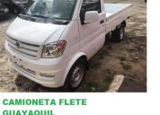 Camioneta flete  mudanza pequeÑas  guayaquil solo