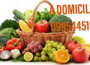 A domicilio frutas verduras y legumbres