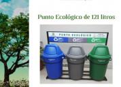 Punto ecologico de 121 litros