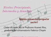 Clases particualres de piano
