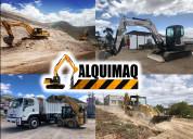 Derrocamientos, desbanques, desalojos, excavacione